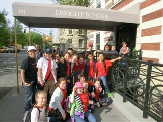Fifth Grade London Students Visit Dwight School!