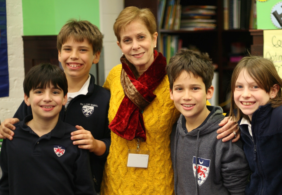 Head of Lower School, Martha Hirschman, Embraces Innovation and Gets Students Up and Out of Their Seats!