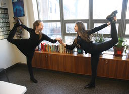 "Dancing Duo in the Spotlight at Carnegie Hall in ""Music for Dance"""