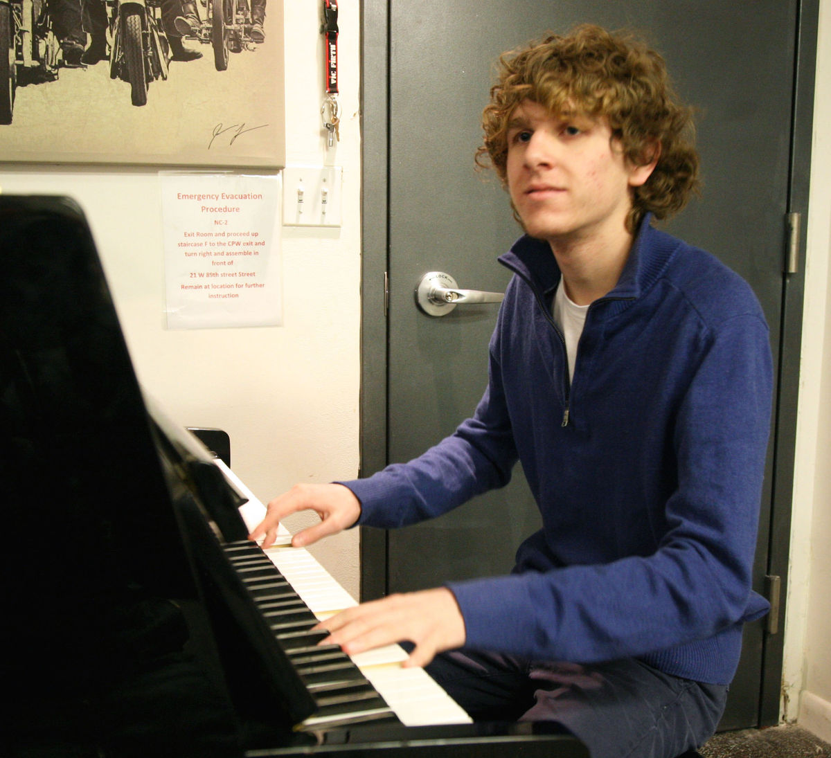 Senior Zachary Fobert's Fingers Will Dance along the Keyboard at Carnegie Hall