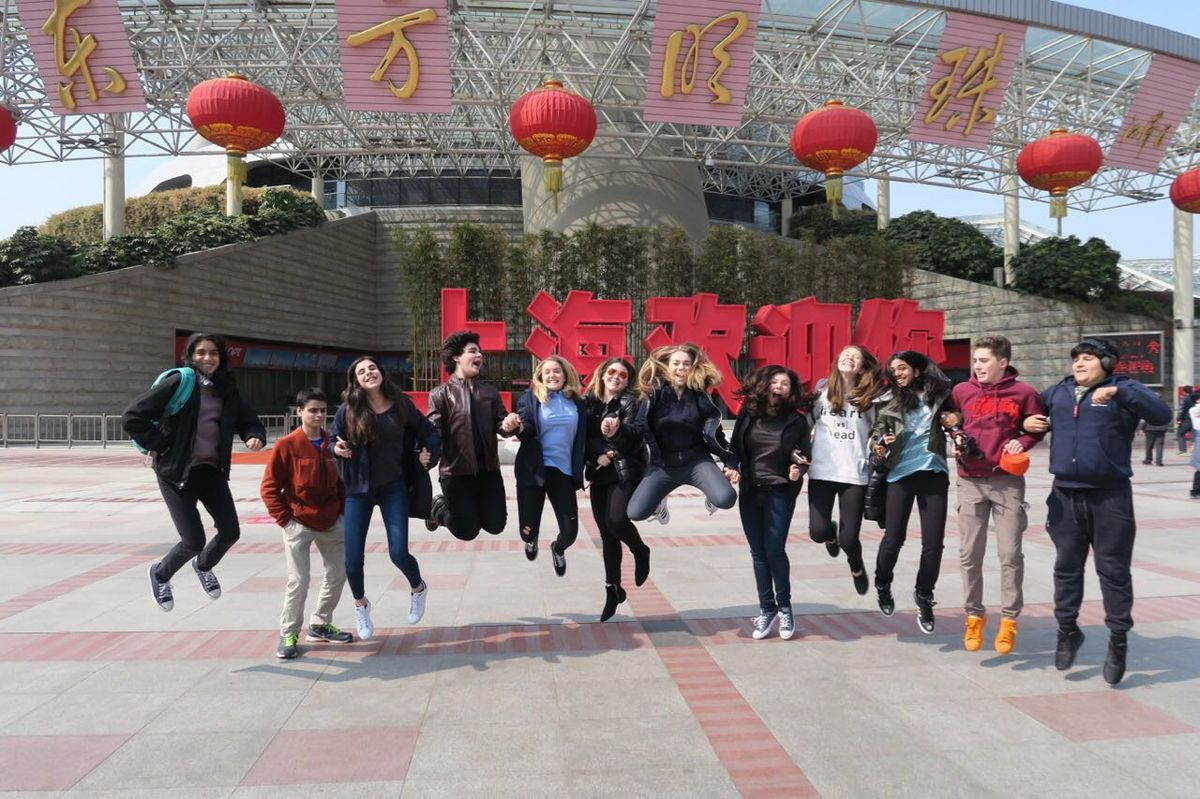And They're off! Dwight Students Are Enjoying Our Inaugural Exchange Program in China