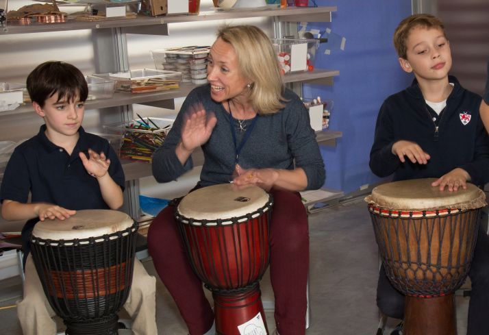 Lower School Music Teacher, Vita Zambetti, Inspires Young Students to Collaborate Through Music