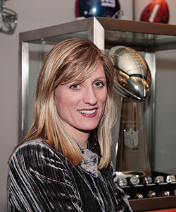 Inside the NFL with Jaime Weston '89, Director of Brand and Creative Designs