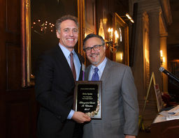 Vice Chancellor Blake Spahn Recognized as a Distinguished Leader in Education