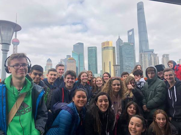 Ninth Graders Experience China Through the Eyes of Their Dwight Peers