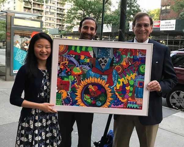 Dwight Global Grad Tina Wu Shares Appreciation through Art