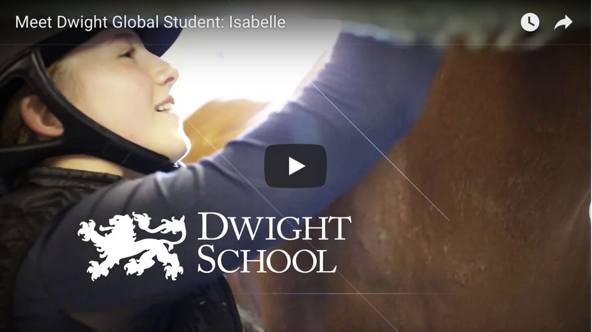 Meet Dwight Global Student: Isabelle