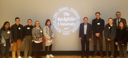 Students Learn About Groundbreaking Research at Rockefeller University Lecture