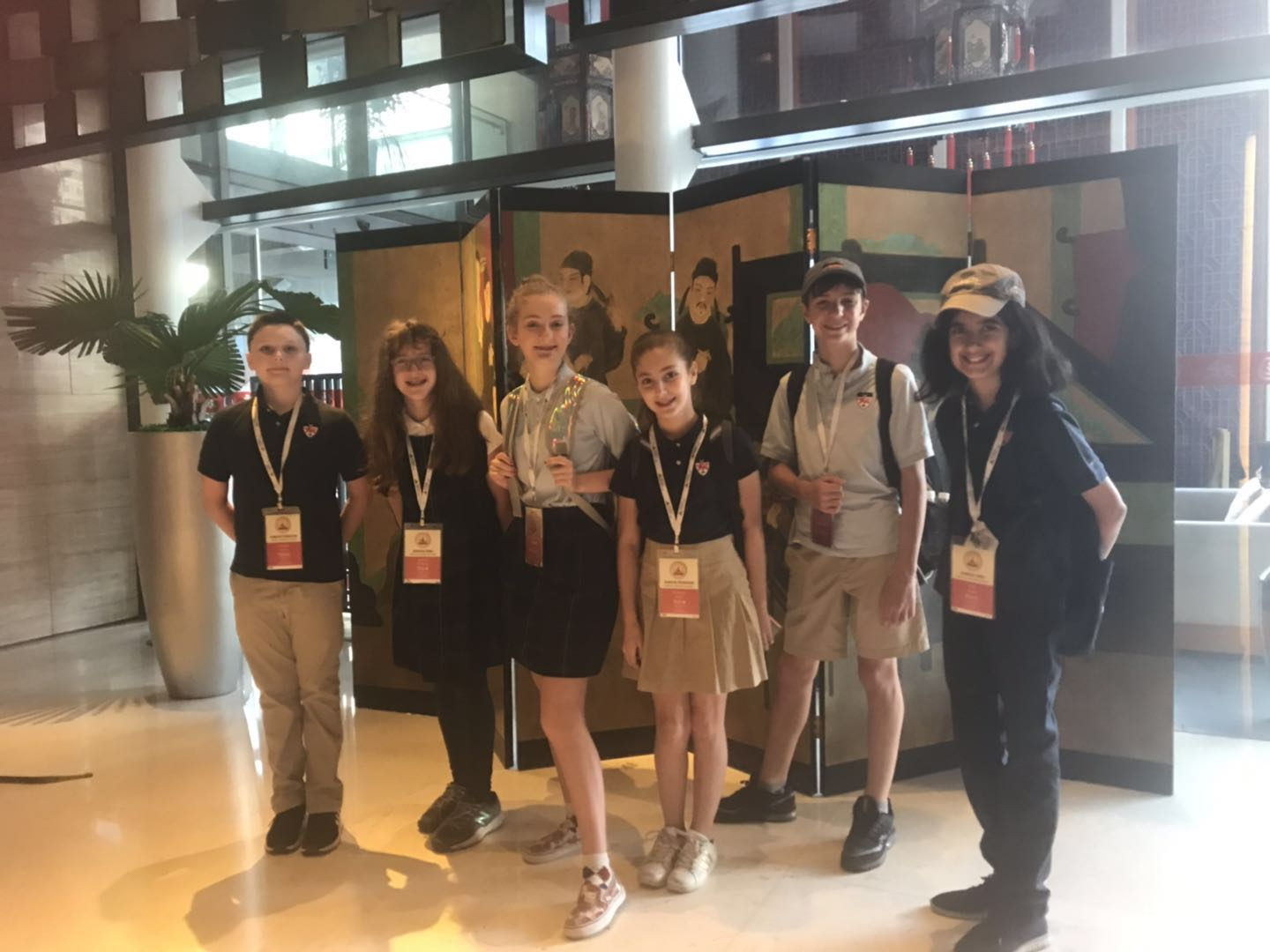 Middle Schoolers Journey to Beijing —  and the Championship —  for the World Scholars Cup