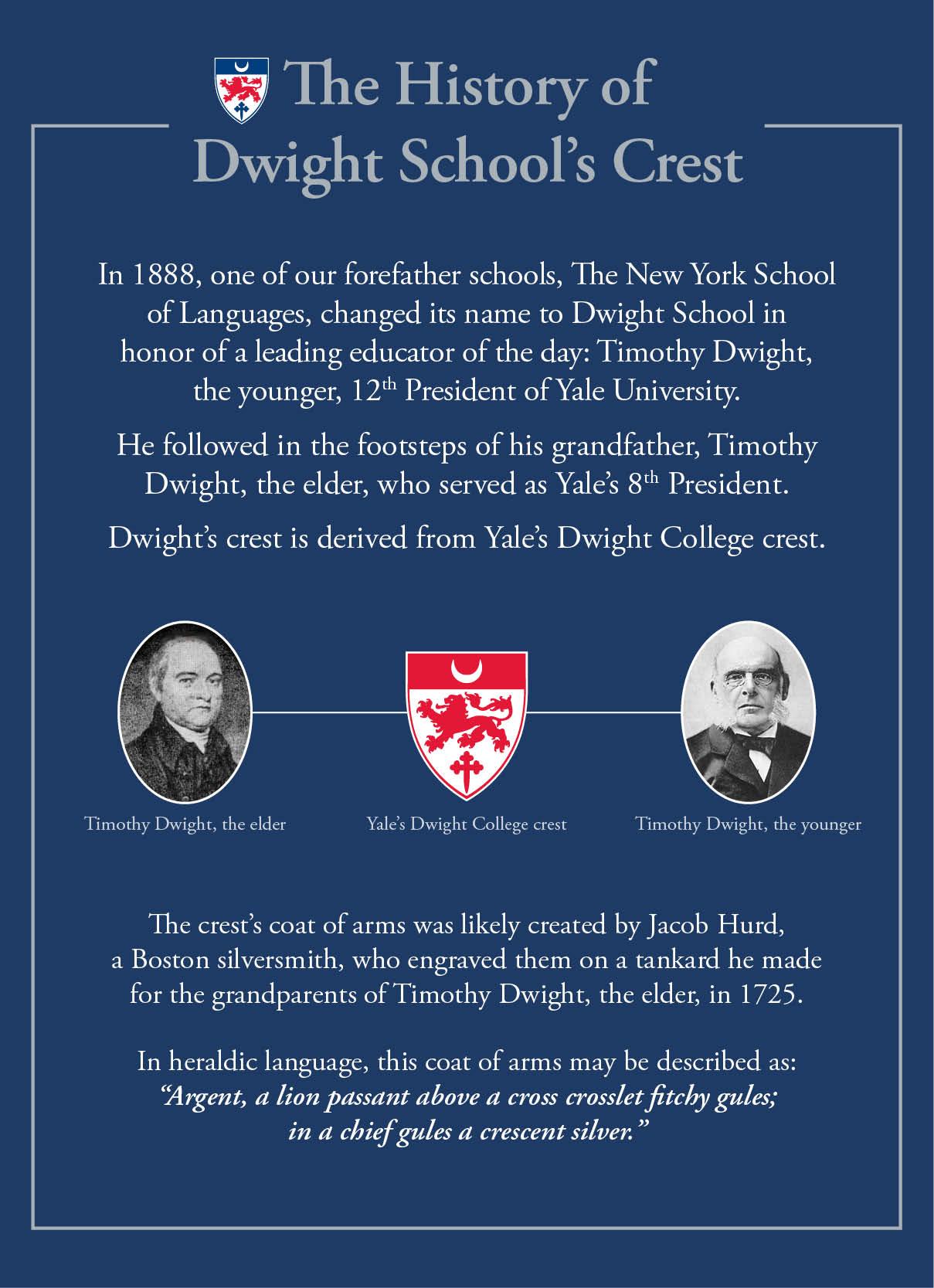 History   Dwight School New York