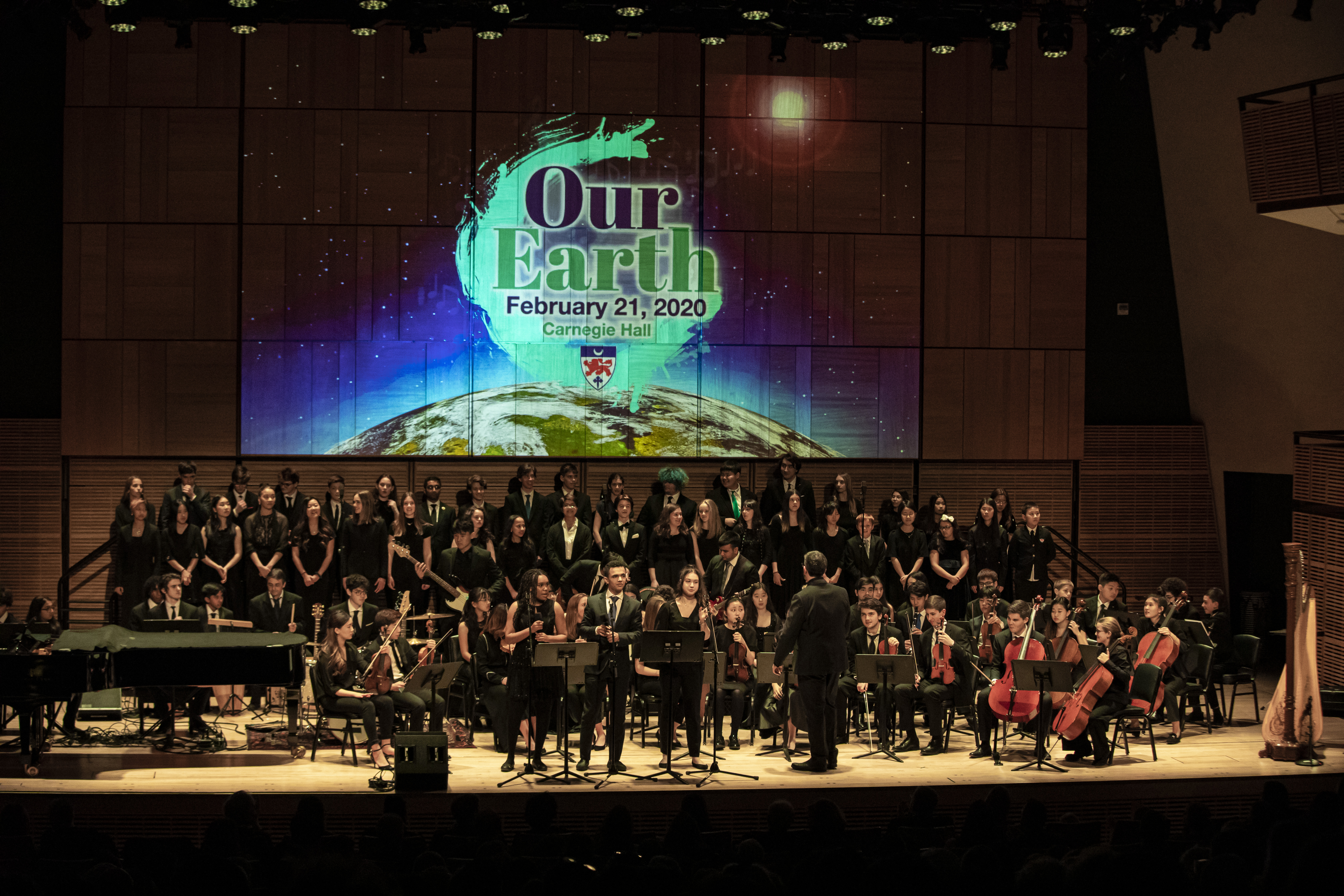 "Dwight's Global Family Celebrates ""Our Earth"" at Carnegie Hall!"