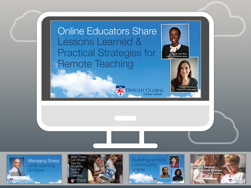 Dwight Global Offers Free Webinar Series to Help  Students, Teachers, and Families in the Age of COVID-19