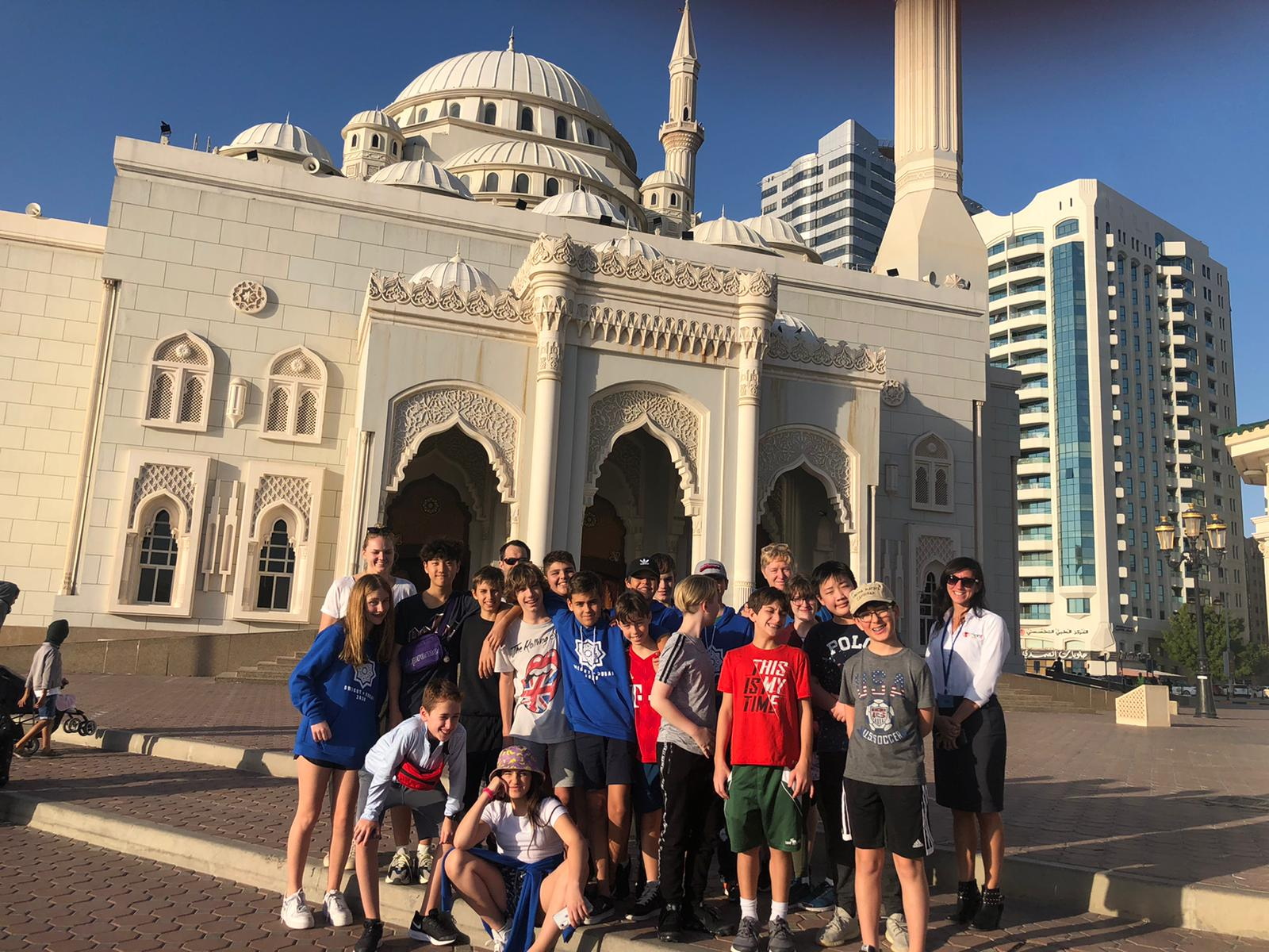 Seventh Graders Take Flight for Inaugural Exchange with Dwight School Dubai