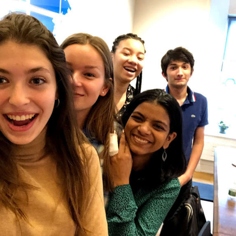 Seniors Share Their Experiences in the IB's First-ever Podcast!
