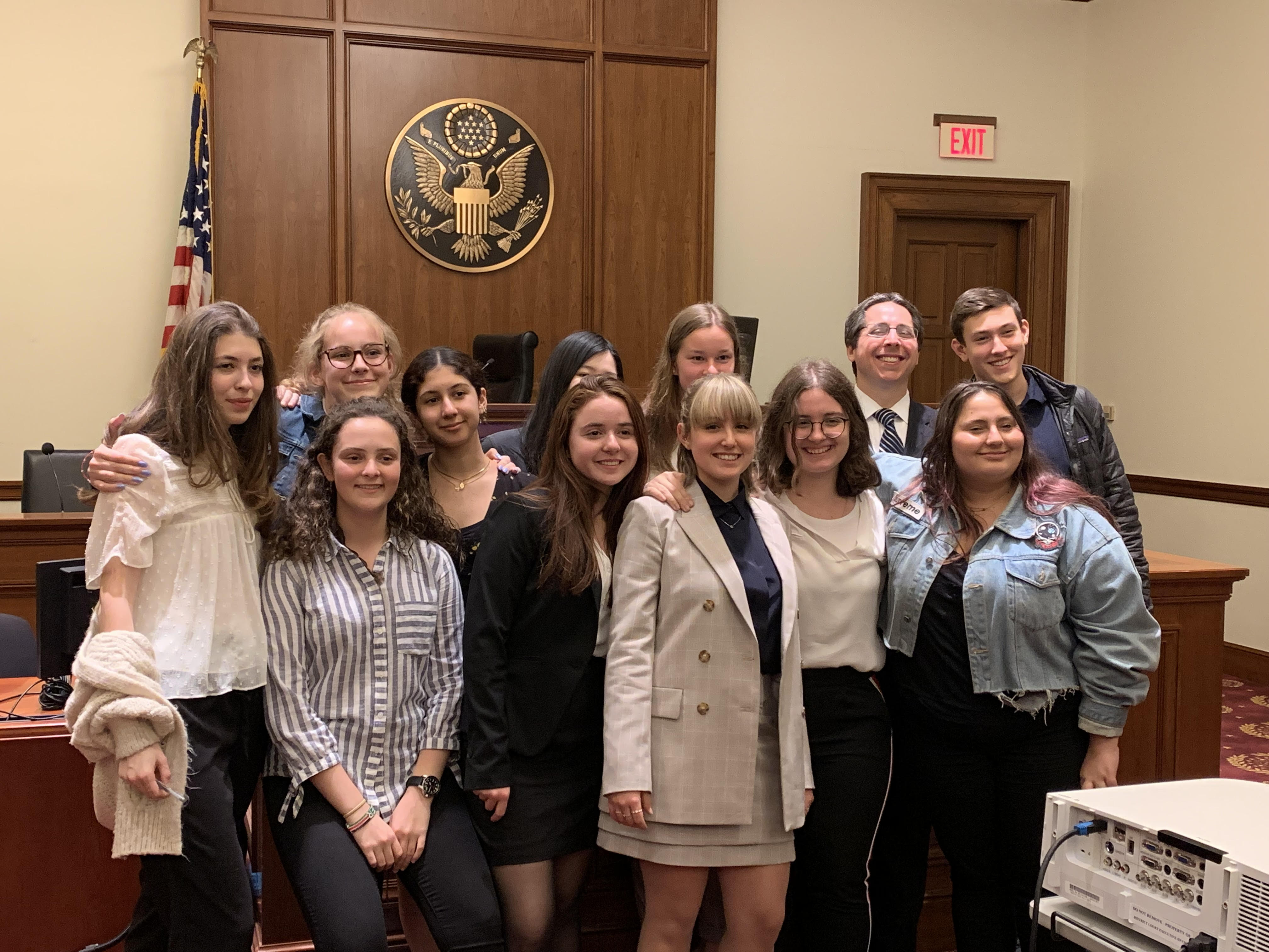 We Are #1 — Dwight's Mock Trial Team Takes Manhattan!