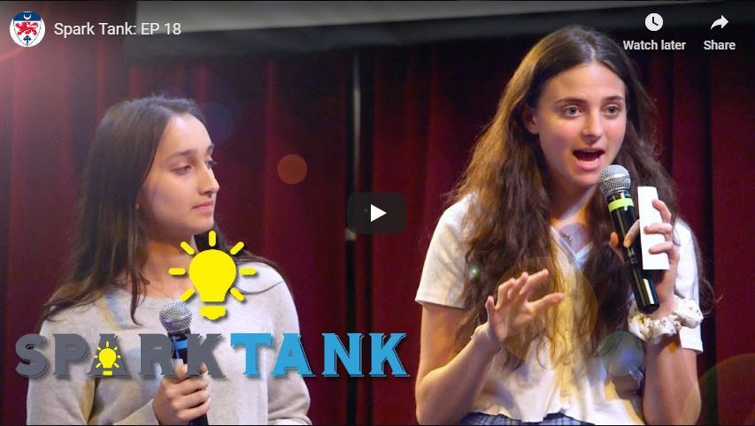 The Sky's the Limit for Students in Spark Tank!