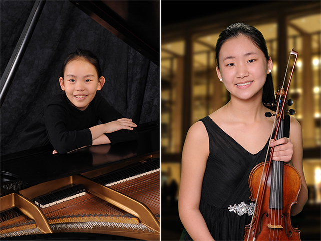 Suzie '26 and Katelyn '23, A Duo of Pre-college Juilliard Students, Will Share Their Musical Sparks at Our Shanghai Music Festival!